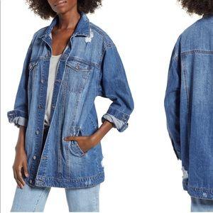 Long line BP Jean jacket.